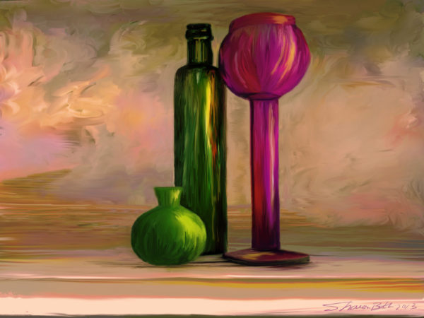 Art- Painted Glass